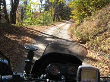 The-easy-Heintooga-gravel-road